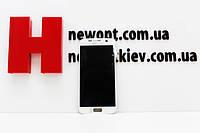 Дисплей Samsung G930 Galaxy S7 Duos с тачскрином (белый) 100% оригинал