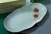 Блюдо керамическое овальное