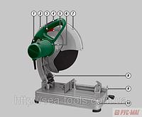 Пила монтажная диск абразивный DWT SDS22 - 355T