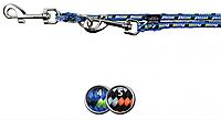 """Поводок-перестежка """"Mountain Rope"""" для собак 2в1 (нейлон) 2м/13мм, круглый"""