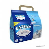 Наполнитель для кошачьего туалета Catsan, кварцевый 5кг