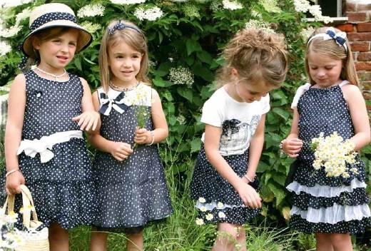Джинсовые сарафаны и юбки для детей