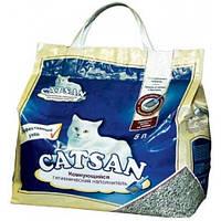 Наполнитель для кошачьего лотка Catsan Ультра, 5л