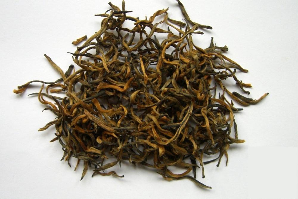 Китайский элитный чай Цзинь Сы Инь Гоу Золотые нити, серебряные крючки