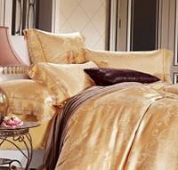 Жаккардовое постельное белье Arya Броде Morelle