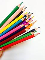 """Карандаши цветные """"Extra Soft"""", 18 цветов, треугольные"""