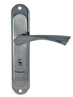 Ручка Шерлок ZN-77-23-CP на планке (хром)