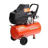 Компрессор PATRIOT EURO24-240    1500 Вт, 24 л, 8 бар 240 л/мин, (медная обмотка)