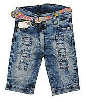 Бриджи джинсовые от 1 до 4 лет