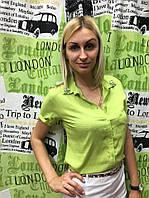 """Блузка женская летняя из коттона """"Лимонад"""""""