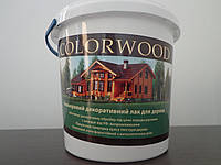 Colorwood Цветной лак для дерева 1л.