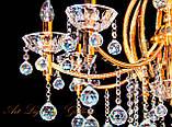 Большая красивая классическая люстра на 8 ламп, фото 2