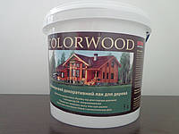 Colorwood Цветной лак для дерева 5л.