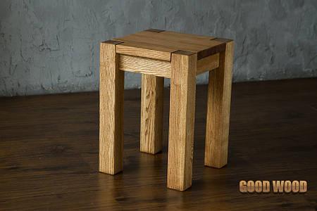 Табурет деревянный Т-1, ясень или дуб, (Ш350*В480*Г350)