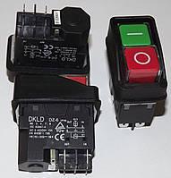 Кнопка к бетономешалке двойная DKLD 5 - KJD17