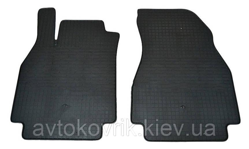 Резиновые передние коврики в салон Renault Megane II 2002-2009 (STINGRAY)
