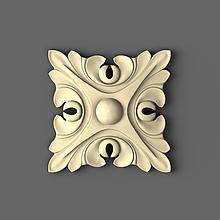 Розетка декоративна 60х60
