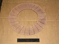 Накладки диска сцепления  несвердленные тканая  ГАЗ 53