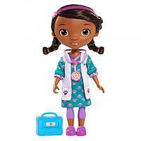 Disney Doc Mcstuffins Доктор Плюшева в зеленом платье Specialty Pink Scrubs Doll