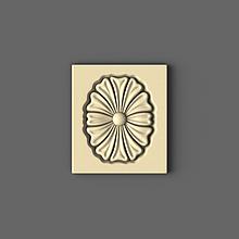 Розетка прямокутна 70х80
