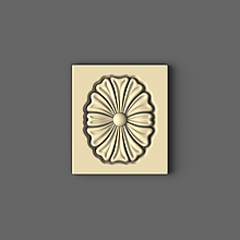 Розетка прямоугольная 70х80