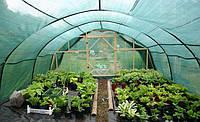 Сетка затеняющая Оптима / Сітка затіняюча 75% 4.2м*10м, 42м.кв. Зеленая Оптима