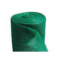 Сетка затеняющая 45% 2 м х 100 м зеленая, 38 г/м² (Украина), фото 1