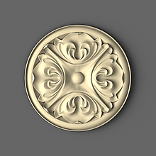 Круглая розетка 60х60