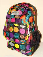 Яркий рюкзак для подростка с ортопедической спинкой 17008/3