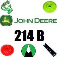 Запчасти на пресс подборщик John Deere 214 B