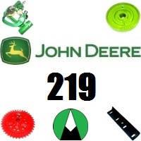 Запчасти на пресс подборщик John Deere 219
