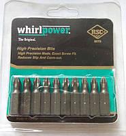 Биты Whirlpower ph2-25 мм. (блистер 10 шт.)