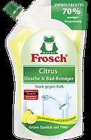 Frosch Citrus Dusche & Bad-Reiniger Nachfüllpack - Очиститель для ванн и душевых кабин лимонный, 500 мл