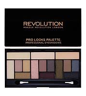 Палитра теней Makeup Revolution  Stripped & Bare Paleta 15