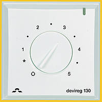 Терморегулятор Devi Devireg 130, 5-35 °C, датчик пола, 16 А