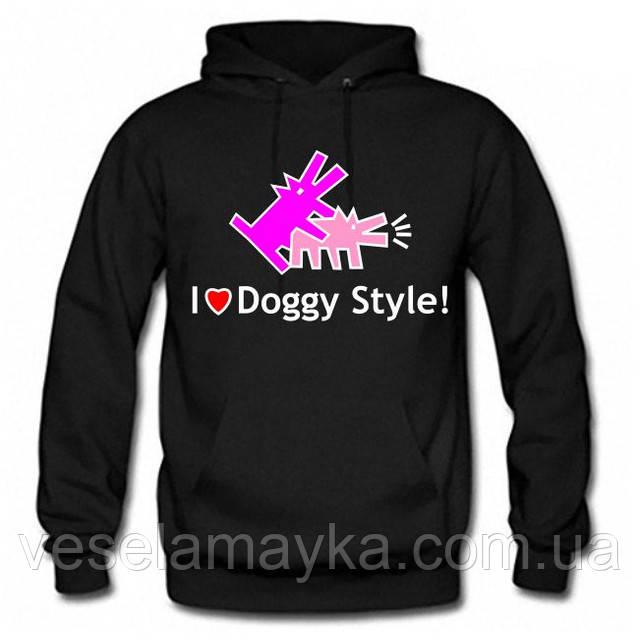 "Толстовка ""I love doggy style"""