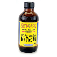 Масло чайного дерева Swanson, Tea tree oil
