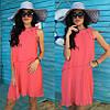 Шифоновое платье гофре, фото 5