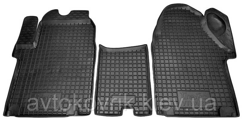 Полиуретановые коврики в салон Opel Vivaro I 2001-2014 (AVTO-GUMM)