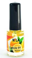Масло для кутикулы, Nila, 6 мл, лимон