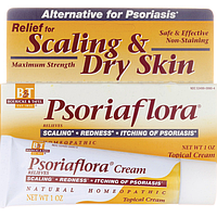 Psoriaflora крем для лечения псориаза из США мазь,