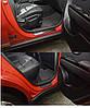 Накладки на пороги Kia Soul FL 2014- шт. premium