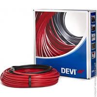 Набор «2-жильный нагревательный кабель DEVIflex 18T» длинна 7 метров + монтажные аксессуары Devi