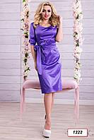 Платье 12-1322 - фиолетовый: M L XL XXL