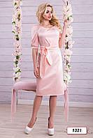 Платье 12-1321 - персик: M L XL XXL