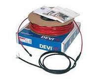 Набор «2-жильный нагревательный кабель DEVIflex 18T» длинна 10 метров + монтажные аксессуары Devi