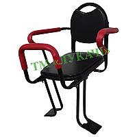 Сидіння дитяче на багажник трубка дор.(квадрат на підножку)