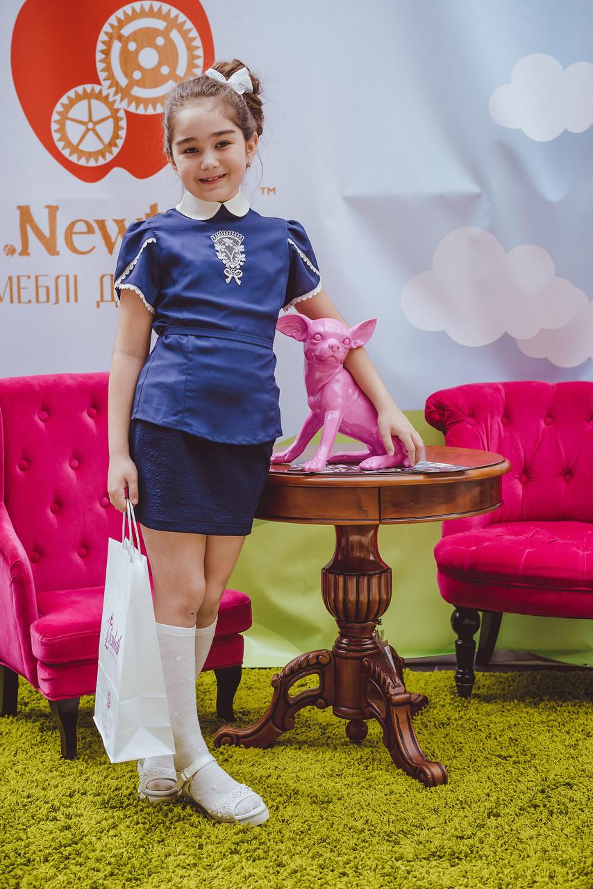 Эксклюзивная блуза для девочек для школы