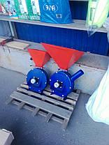Зернодробилка Млинок под двигатель (зерно+кукуруза), фото 2