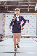 Модный школьный жакет для девочки, фото 1